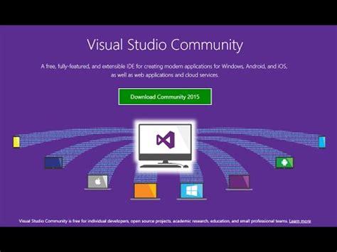 visual studio tutorial in hindi full download download and install visual studio 2015 rc