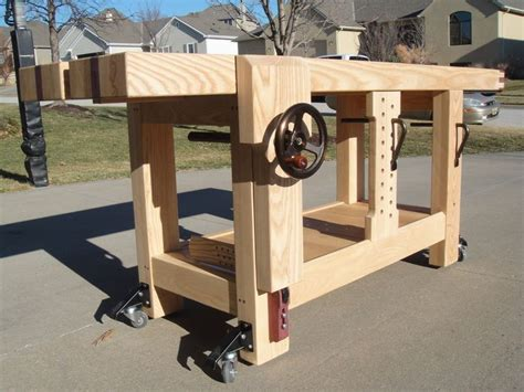woodwork bench design 17 best ideas about workbench plans on pinterest