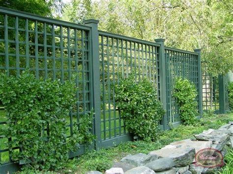 Open Trellis Fencing 1000 Ideas About Lattice Fence Panels On