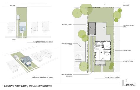 back of house california bungalow addition study l 178 design llc