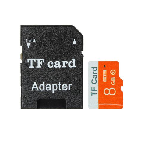 Memory Card Kamera Dslr 8gb 8gb micro sd tf secure digital high speed flash memory card class 10 with adapter alex nld