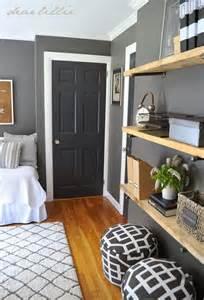 Dark Grey Walls similar color scheme in my home dark gray walls white