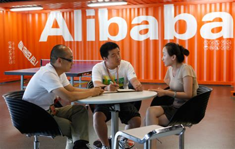 alibaba usa office alibaba com sees profits rise