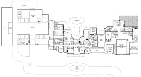 awesome mansion home plans 11 luxury mega mansion floor plans smalltowndjs