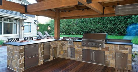 out door kitchen enjoy your own party outdoor kitchens make it fun
