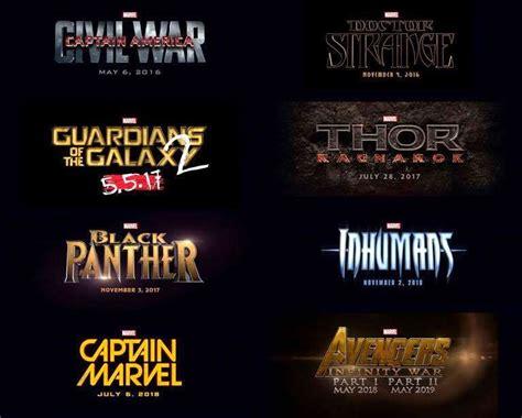 film marvel en 2016 marvel has announced their new movies till 2019