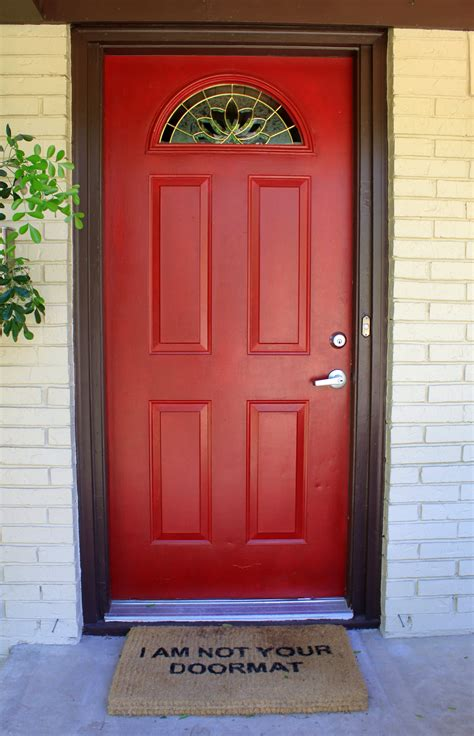red front doors front door the cavender diary