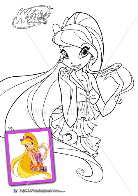 winx club coloring pages games online winx club stella harmonix coloring pages