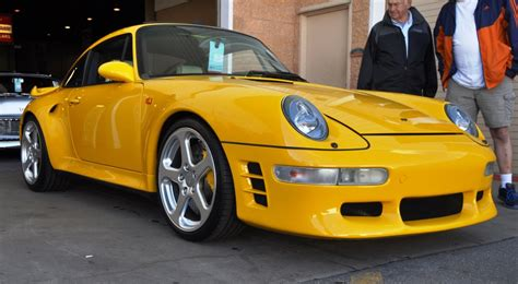 ruf porsche 1997 ruf porsche 911 turbo r yellowbird