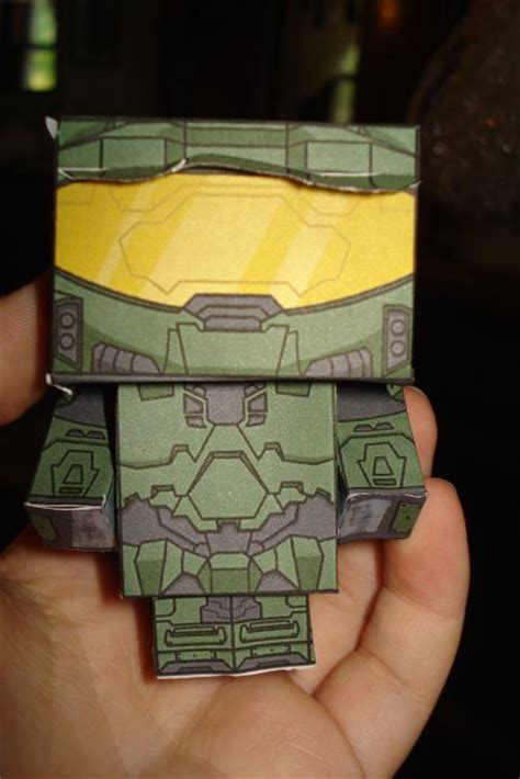 Master Chief Papercraft - master chief papercraft by nickeltier on deviantart