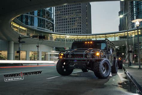 Black Destroy 1 hummer h1 tactical search destroy tier 2 for sale evs