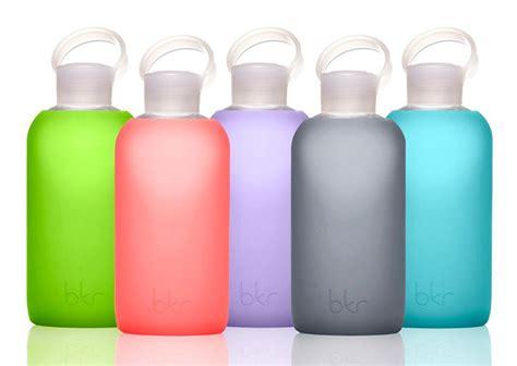 Good Kitchen Knives Bkr Bottle Glass Bottle Soft Silicone Sleeve So That