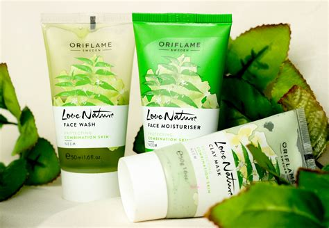 Clay Mask Tea Tree Oriflame oriflame s nature neem for combination skin