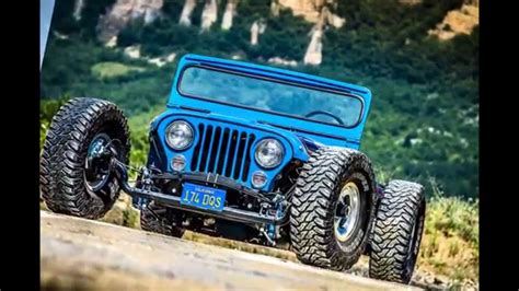 Hotrod Jeep Jeep Rod By Jeepers Club Officina America C