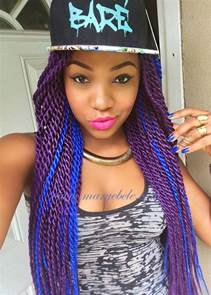 braids with color 17 best ideas about purple box braids on