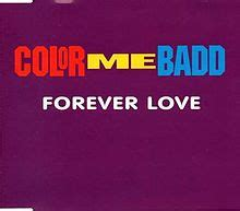 color me badd forever forever color me badd song