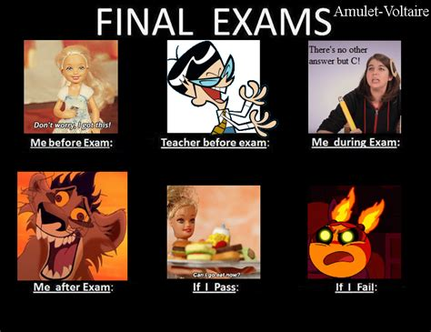 Final Exam Meme - final exams meme by amulet voltaire on deviantart