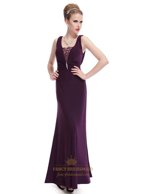 purple cocktail celebrity purple evening gown www imgkid com the image