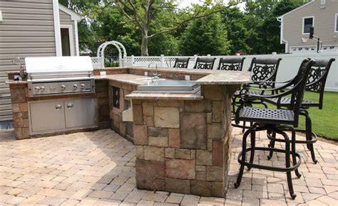 outdoor kitchen bar stools custom built outdoor kitchens 2007 lazy l