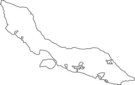 Island Outline by Caribbean Islands Map Outline