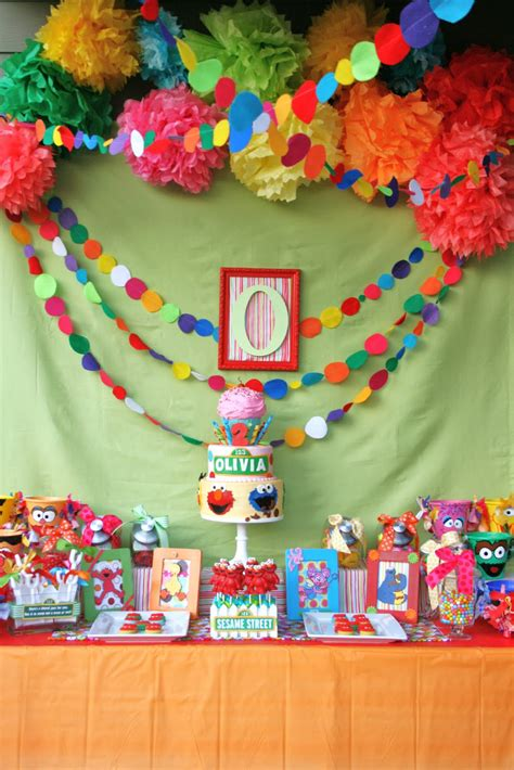 Birthday Themes Sesame Street | and everything sweet olivia s sesame street party