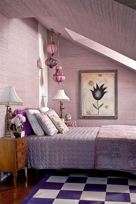 traditional home lavender bedroom tobi fairley