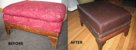 diy reupholster ottoman pin by magdalena ks on ottomam table pinterest