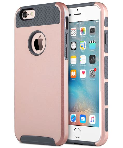 for apple iphone 6s plus hybrid heavy duty rubber iphone 6 plus cover ebay