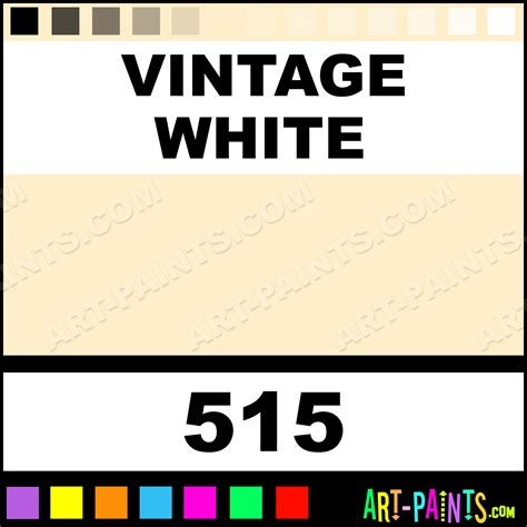 vintage white folk acrylic paints 515 vintage white paint vintage white color plaid