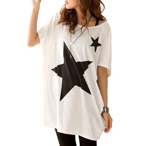 t shirt pattern for ladies camisetas femininas 2015 new summer women oversize baggy