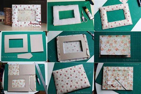 portarretratos con cajas de cd portaretratos con materiales reciclados bricolaje10 com