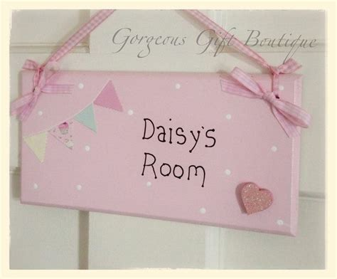 Handmade Name Plaques - 7 best images about personalised childrens name plaques