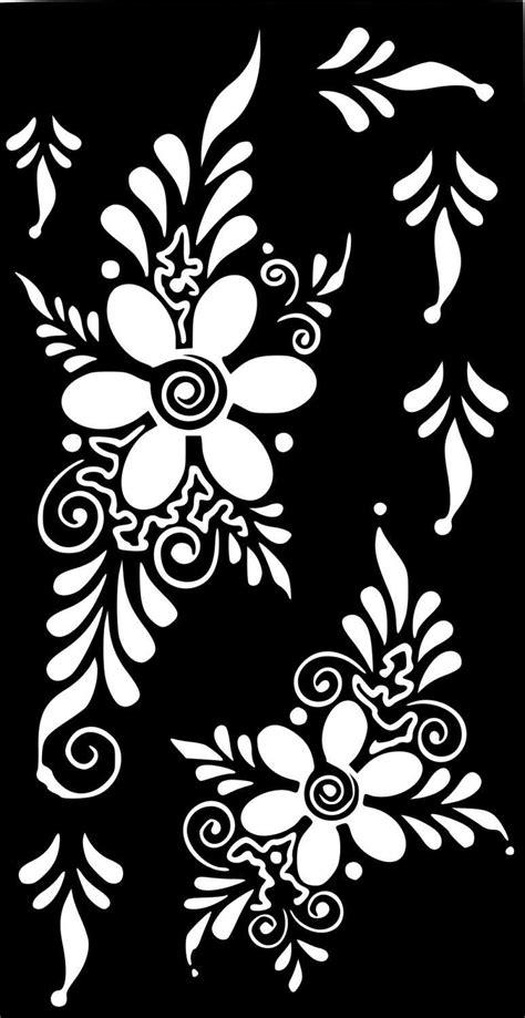 henna temporary tattoo stickers variety henna temporary glitter stencil sticker