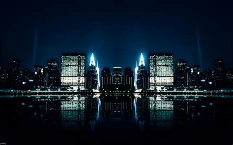 city night reflections wallpapers hd wallpapers id 11466