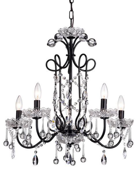 black traditional chandelier vintage 5 light chandelier black traditional