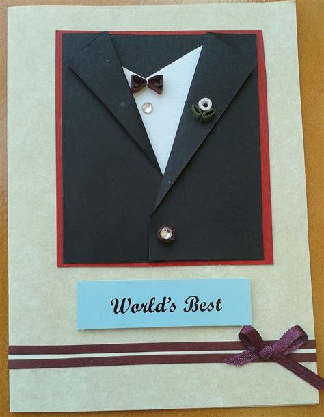Quilling Designs by Buy World S Best Black Suit Card For Him Shipmycard Com