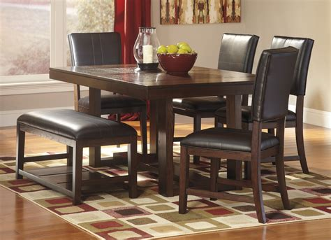 ashley dining room tables buy ashley furniture watson rectangular dining room table
