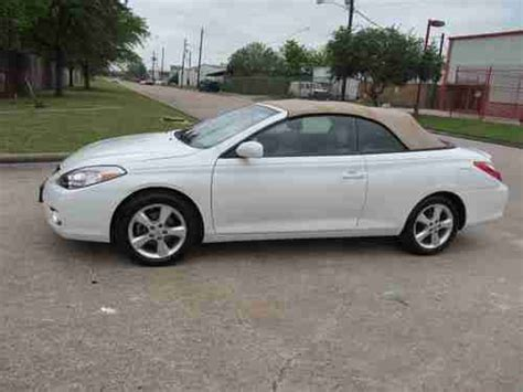 how to sell used cars 2008 toyota solara engine control sell used 2008 toyota camry solara sle v6 in houston texas united states