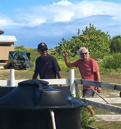 obama on necker island the obamas enjoy relaxing vacation stock news usa