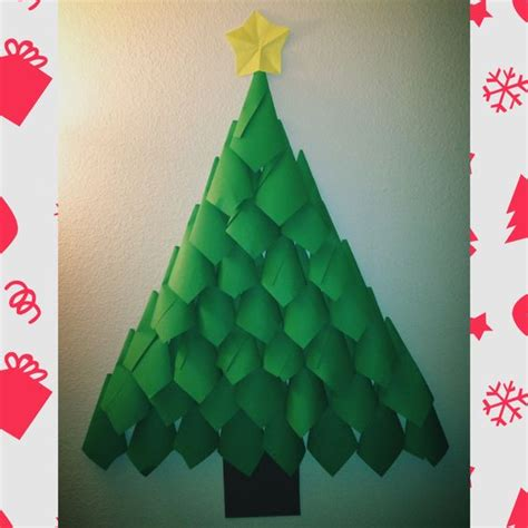 christmas trees made out of consttruction paper construction paper construction and trees on