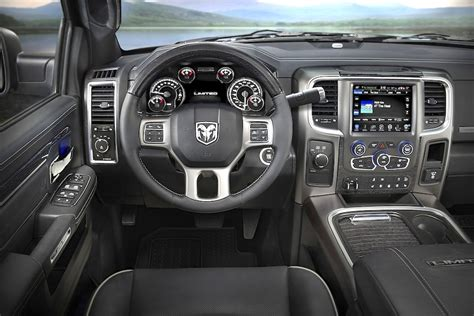 Laramie Limited Interior by 2015 Detroit Auto Show Ram 3500 Autos Post