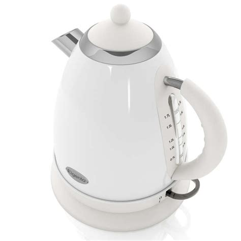 Marco Electric Kettle White 1 7 L 1 7 litre white jug kettle kettles products