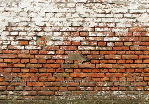 see through worn brick wall with white paint stock photo 169 johnjohnson 4064445