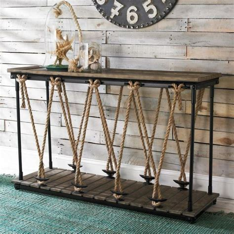 nautical sofa table 25 best ideas about nautical furniture on