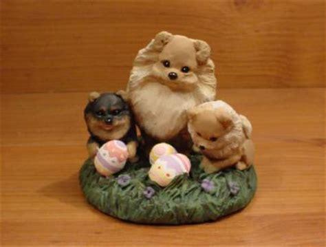 original pomeranian original pomeranian easter egg sculpture claydogz mandyo ooak ebay
