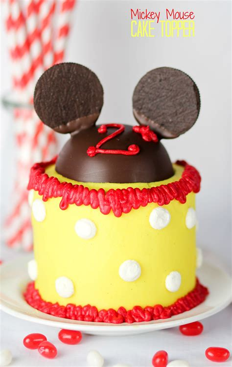 Mickey Mouse Cake Decorations by Mickey Mouse Cake Topper