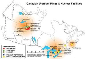 map of mines in canada for decades canada has been the world s largest producer
