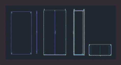 cabinet dwg block  autocad designs cad