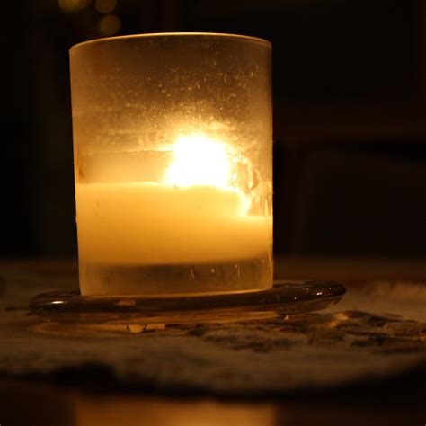 Glass Candle Candle In Glass Holder Picture Free Photograph Photos