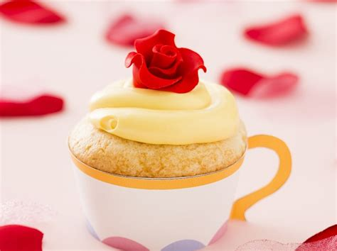 beauty and the beast inspired recipes crafts with how to make beauty and the beast inspired tea cupcakes